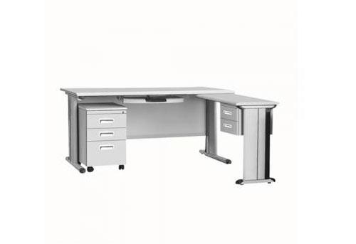 HDZ-D36 1680主桌+附台+活动柜