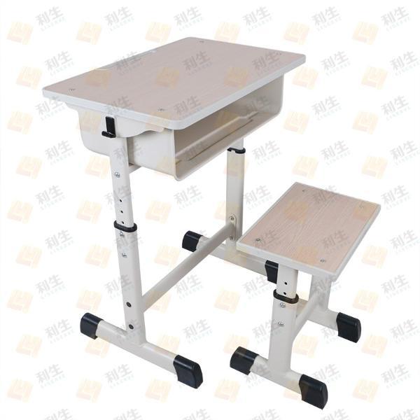 利学LZA01LDA01单人钢木升降课桌凳